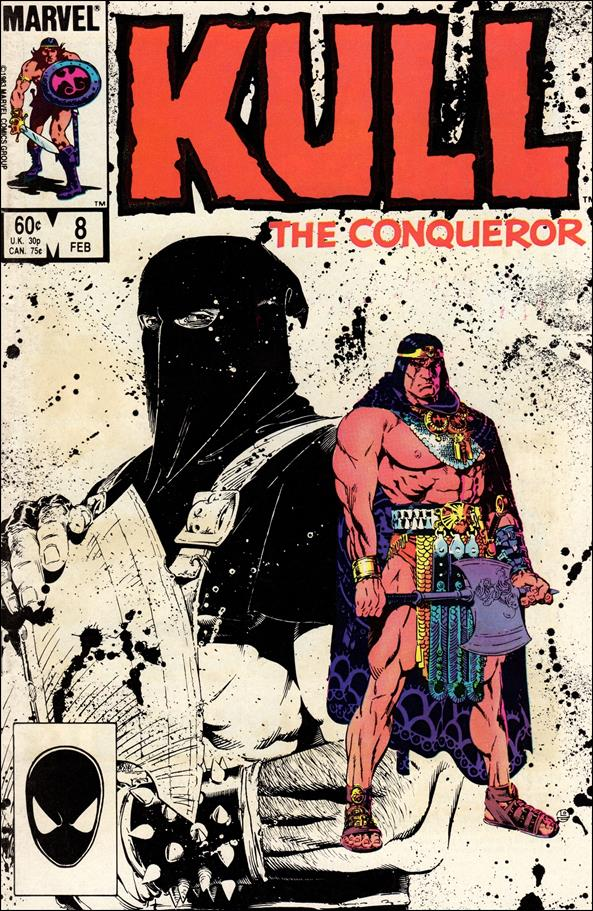Kull the Conqueror (1983) 8-A by Marvel