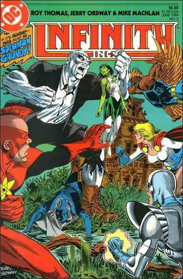 Infinity Inc. (1984) 3-A by DC