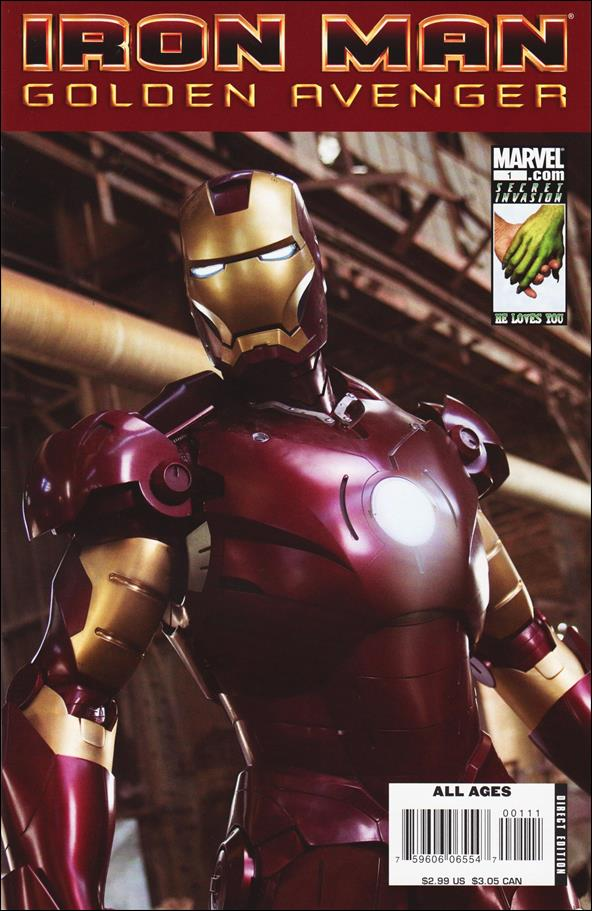 Iron Man: Golden Avenger 1-A by Marvel