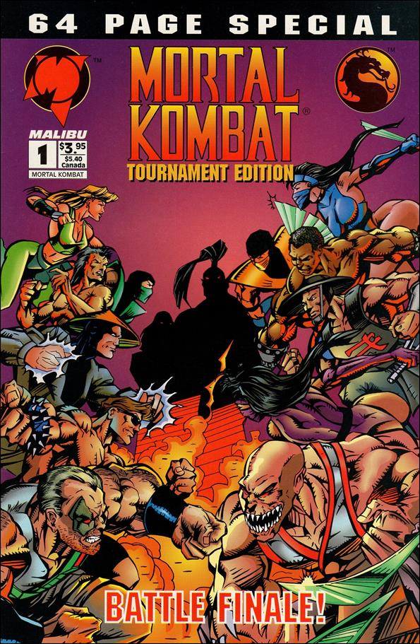 Mortal Kombat Tournament Edition 1-A by Malibu