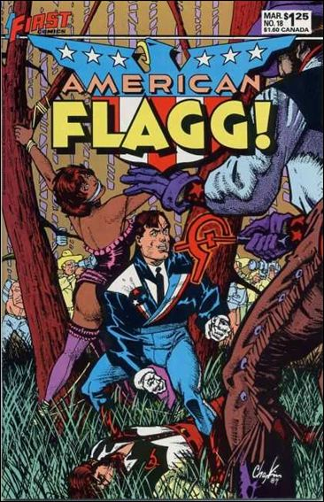 American Flagg! (1983) 18-A by First