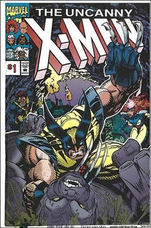 Uncanny X-Men: NFL Pro Action Giveaway Insert Comic 1-A