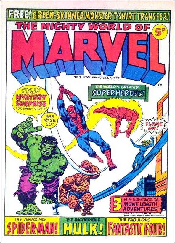 Mighty World of Marvel (UK) (1972) 1-A by Marvel UK