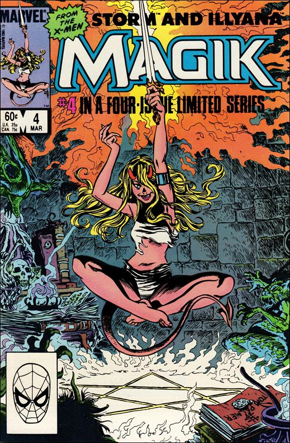 Magik (1983) 4-A by Marvel
