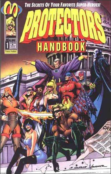 Protectors Handbook 1-A by Malibu
