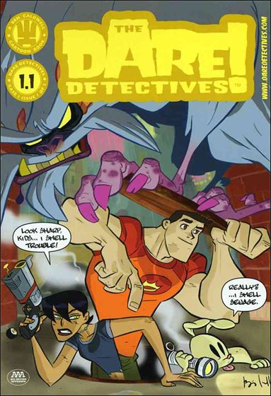 Dare Detectives 1-A by Dark Horse