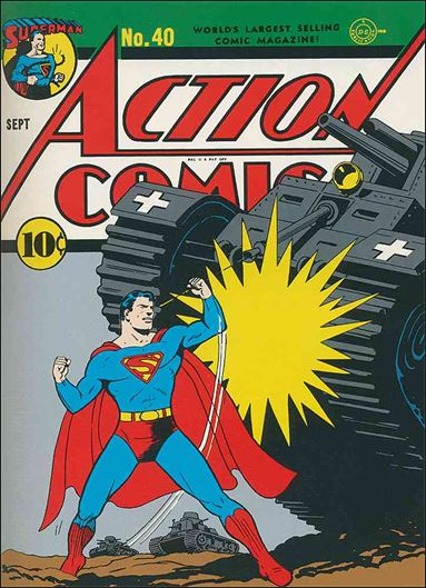 Action Comics (1938) 40-A by DC