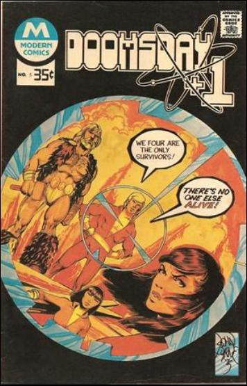 Doomsday + 1 (1975) 5-B by Charlton
