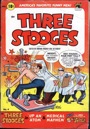 Three Stooges (1953) 4-A by St. John