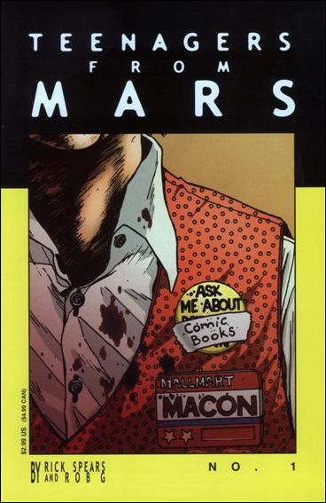 Teenagers from Mars 1-A by Rick Spears and Rob G.