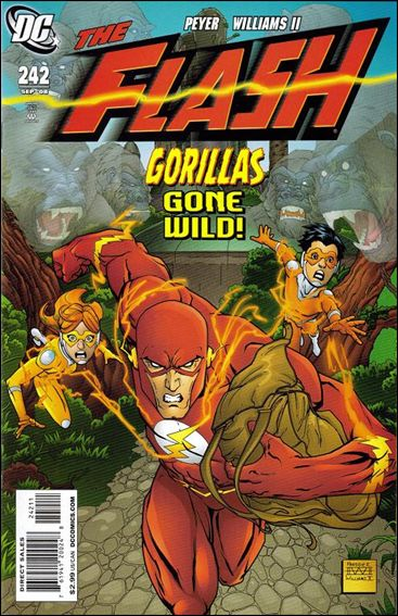 Flash (1987) 242-A by DC