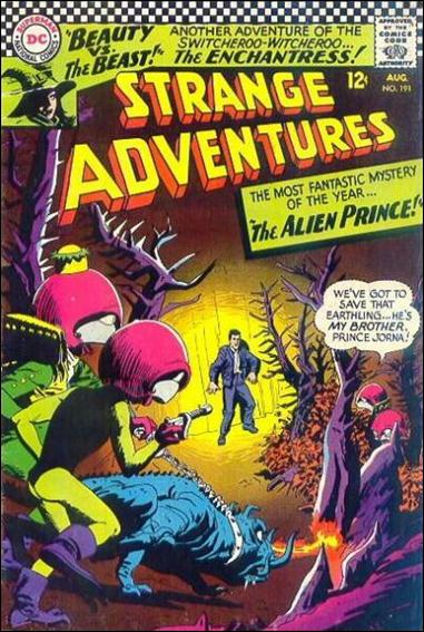 Strange Adventures (1950) 191-A by DC