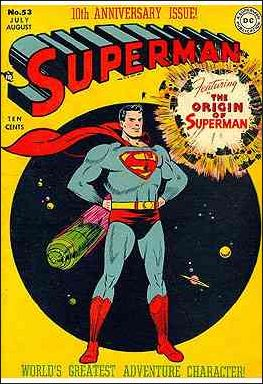 Superman (1939) 53-A by DC