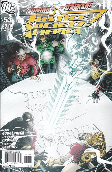Justice Society of America (2007) 53-A by DC