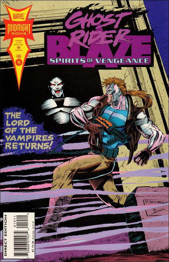 Ghost Rider/Blaze: Spirits of Vengeance 19-A by Marvel