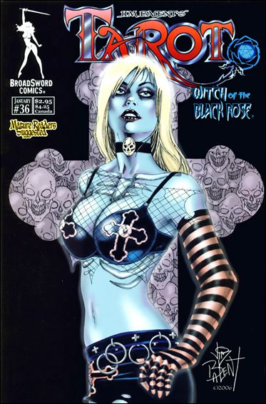 Tarot: Witch of the Black Rose 36-B by BroadSword Comics
