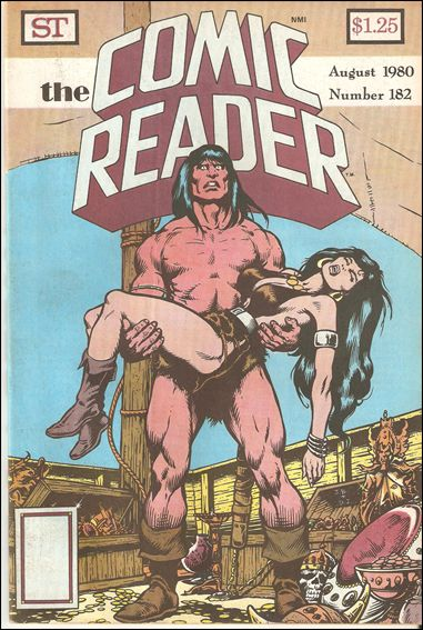 Comic Reader 182-A by Street Enterprises
