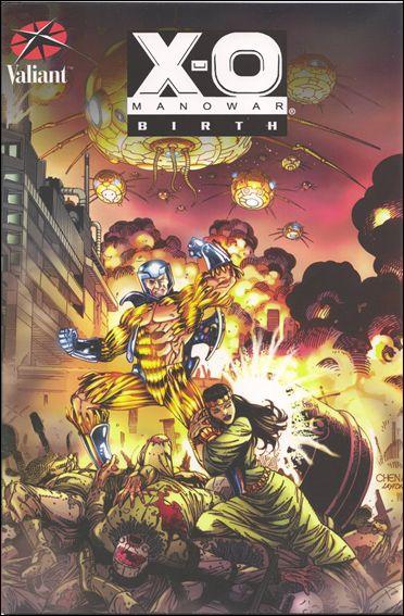 X-O Manowar: Birth nn-A by Valiant Entertainment