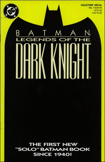 Batman: Legends of the Dark Knight 1-C by DC