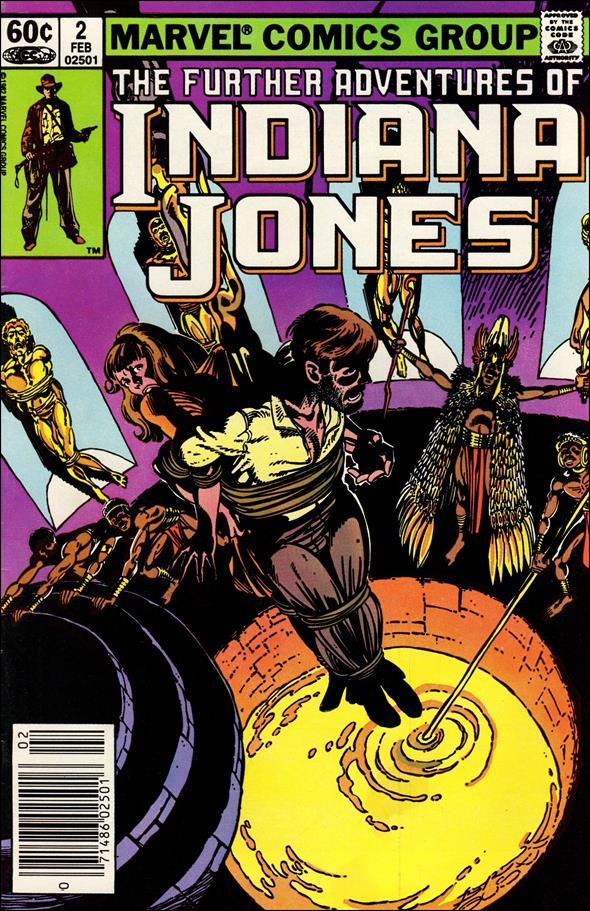 Further Adventures of Indiana Jones 2-A by Marvel
