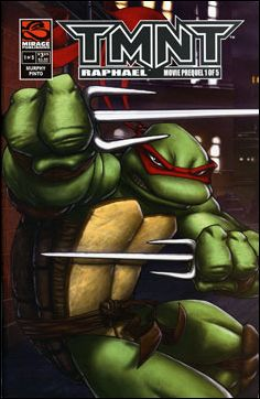 TMNT Movie Prequel  1-A by Mirage