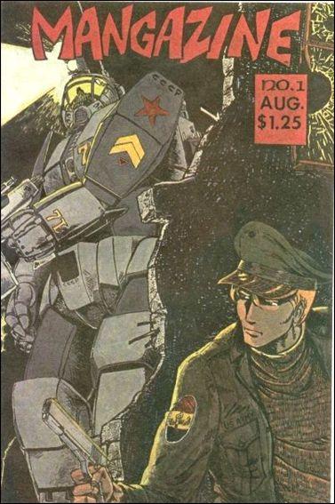 Mangazine (1985) 1-A by Antarctic Press
