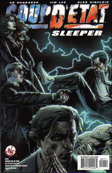 Coup D'Etat: Sleeper 1-B by WildStorm