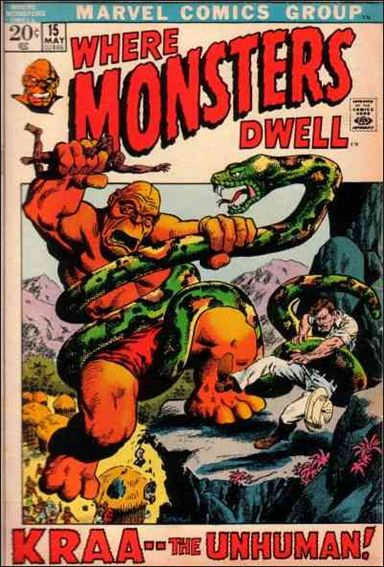 Where Monsters Dwell (1970) 15-A by Marvel
