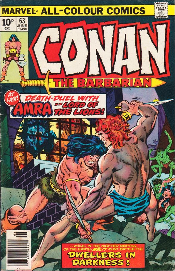 Conan the Barbarian (1970) 63-C by Marvel
