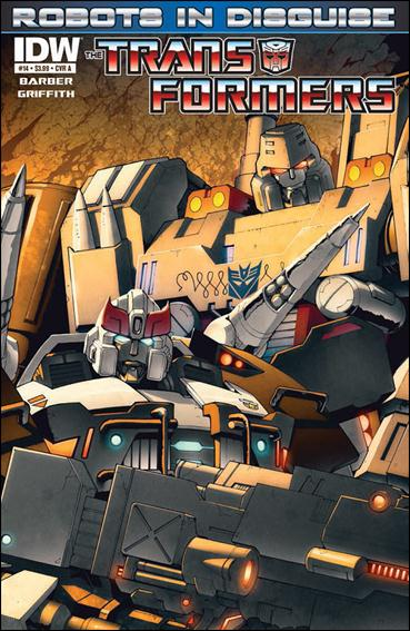 Transformers: Robots in Disguise 14-A by IDW