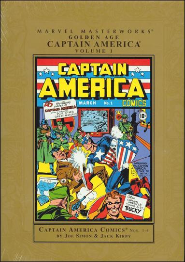 Marvel Masterworks: Golden Age Captain America 1-A by Marvel