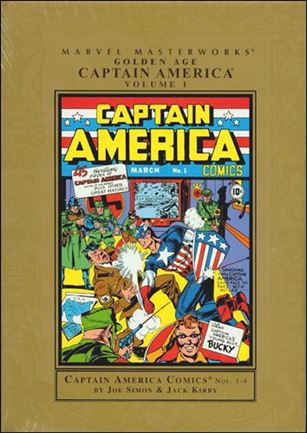 Marvel Masterworks: Golden Age Captain America 1-A