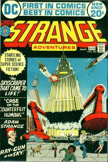 Strange Adventures (1950) 237-A by DC
