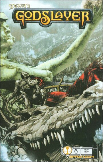 Spawn Godslayer (2007) 6-A by Image