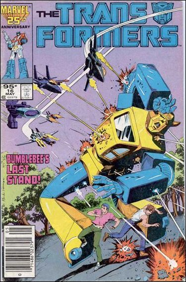 Transformers (1984) 16-A by Marvel