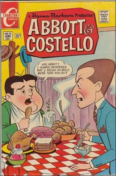 Abbott and Costello (1968) 15-A by Charlton