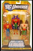 DC Universe: Justice League Unlimited - Fan Collection (3-Packs) Flash, Green Lantern and Hawkman