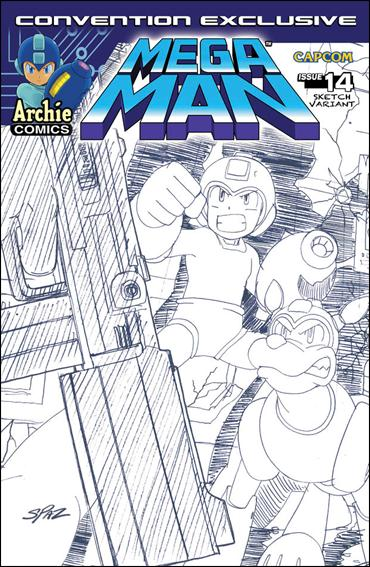 Mega Man 14-B by Archie