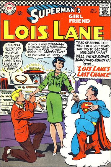 Superman's Girl Friend Lois Lane 69-A by DC