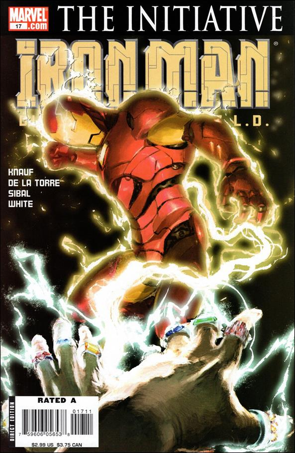 Invincible Iron Man (2005) 17-A by Marvel