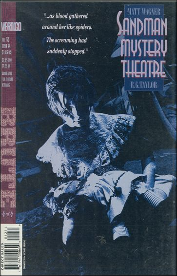 Sandman Mystery Theatre 12-A by Vertigo