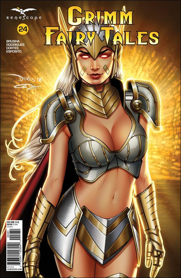 Grimm Fairy Tales (2016) 24-C by Zenescope Entertainment