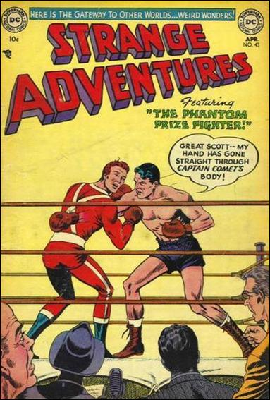 Strange Adventures (1950) 43-A by DC