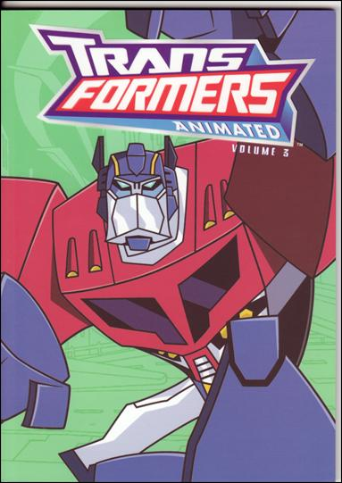Transformers Animated 3-A by IDW