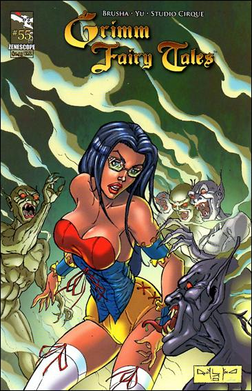 Grimm Fairy Tales (2005) 55-B by Zenescope Entertainment