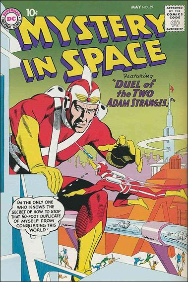 Mystery in Space (1951) 59-A by DC