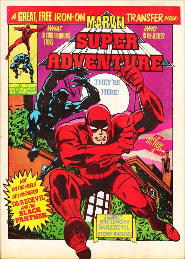 Marvel Super Adventure (UK) 1-A by Marvel UK