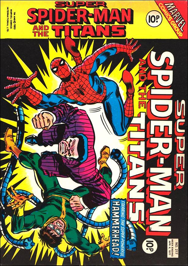 Spider-Man: Comics Weekly (UK) 217-A by Marvel UK