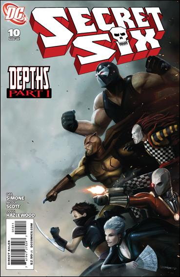Secret Six (2008) 10-A by DC