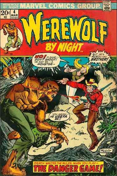 Werewolf by Night (1972) 4-A by Marvel